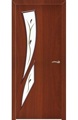 Дверь межкомнатная Стрелиция Миланский орех ОФ