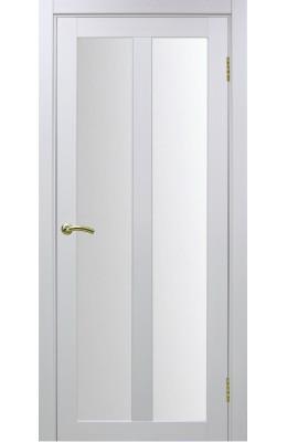 Дверь межкомнатная остекленная Турин 521.22 Белый монохром