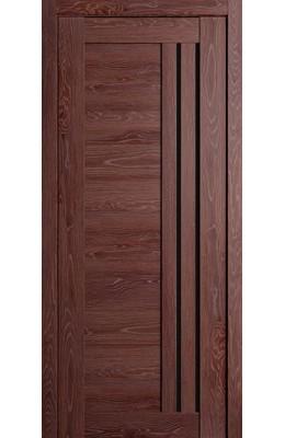 Дверь межкомнатная Милан Дуб филадельфия коньяк стекло темное