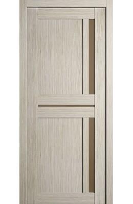 Дверь межкомнатная Неаполь Капучино с бронзовым стеклом