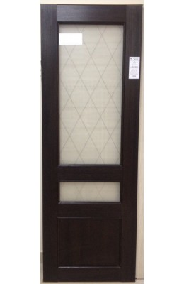 Дверь межкомнатная Лу 38 Венге
