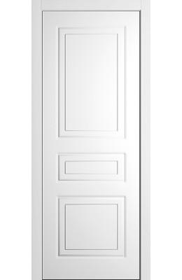 Дверь межкомнатная глухая Гарда Е Белая