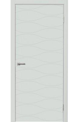 Дверь межкомнатная Нордика 160 Белая эмаль ПГ