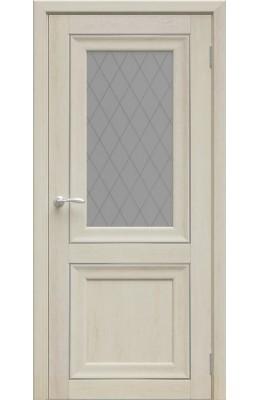 Дверь межкомнатная Ева Дуб Филадельфия крем ПО