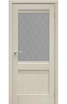 Дверь межкомнатная Юта Дуб Филадельфия крем ПО