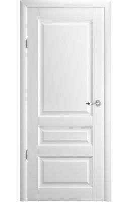 Дверь межкомнатная Эрмитаж 2 Белый ПГ  Vinyl